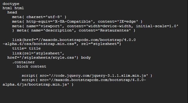bootstrap líneas