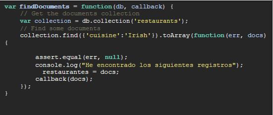 fragmento código app js